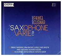 Pawel Gusnar: Saxophone Varie Vol.3
