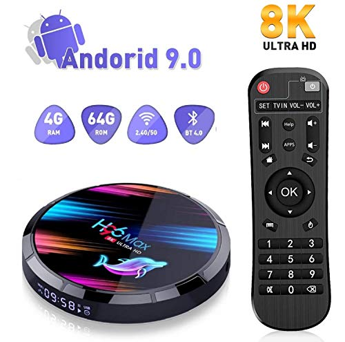Android 9.0 H96 Max TV Box 4GB 64GB Amlogic S905X3
