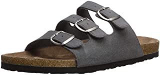 Northside Women's Prisha Sandal, gray, 6 M US