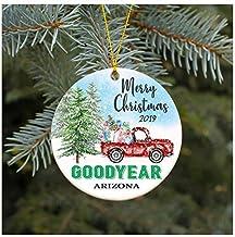 Belle10Bob Julprydnad 2019 Goodyear Arizona AZ juldekoration rolig present jul tillsammans första julen som familjepar gåv...