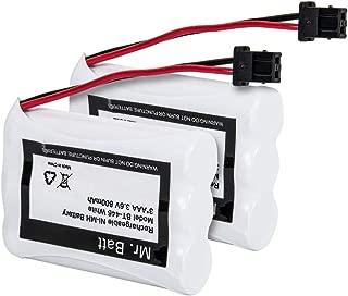 BT-446 Battery for Uniden BT-446 BT-1005, Replacement Battery for Uniden Cordless Phone UIP1868 TRU8885 TRU885-2 TRU8888 TRU9460 TRU9465 TRU9480 TRU9485 Handset Phone (2-Pack)