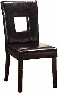 MQZM-À la Main-Chaises en Bois de PU Noir élégant et Simple de fauteuils pour Un Restaurant Chinois, Un café intérieur Cha...