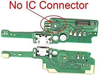JannahMehr-Mobile Phone Flex Cables - USB Charging Port Board For Alcatel Shine Lite 5080 5080U 5080X Charger Connector Do...