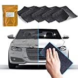 4 Pack - Upgraded Nano Magic Car Scratch Remover Cloth, Multipurpose Scratch Repair Cloth, Nanomagic Cloth for Car Paint Scratch Repair, Easy to Repair Slight Scratches on the Surface