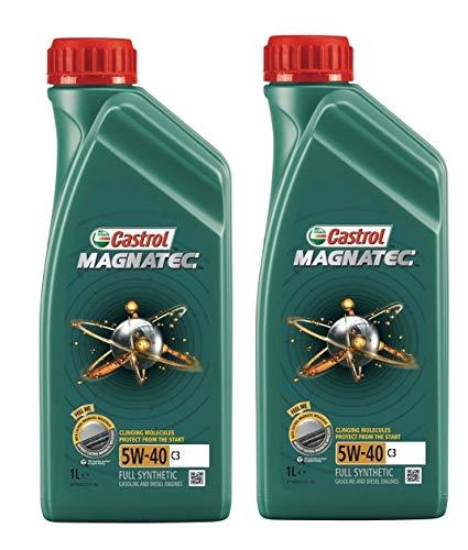 Castrol Magnatec 5W-40 C3 Full Sintetico, 2 Litri