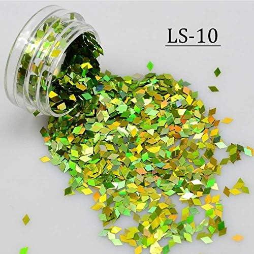 Save money Gabcus New 1 Bottle Nail Art Cheap SALE Start Thin Color 16 Tips Glitter Shining