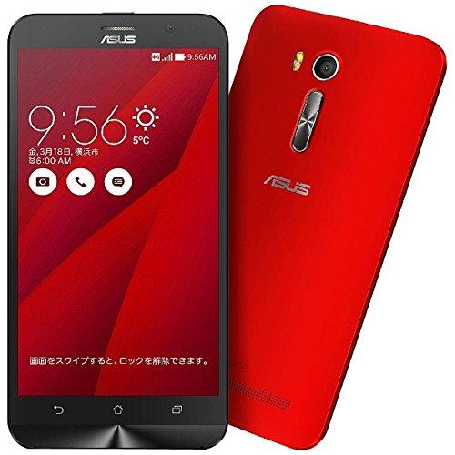 エイスース SIMフリースマートフォン ZenFone Go レッド ZB551KL-RD16