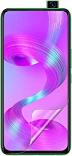 Celicious Vivid Invisible Glossy HD Screen Protector Film Compatible with Infinix S5 Pro [Pack of 2]