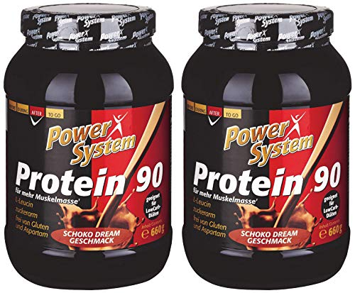 Power System Protein 90 (2 x 660g) Eiweiss-Shake (Schoko Dream)