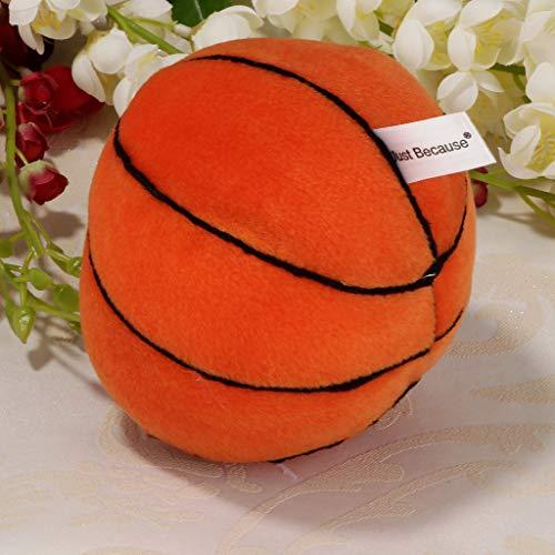Babyball Rasselball Glockenball Ball Spielzeug für Innenbereich, Training der Baby der Gehen - Basketball