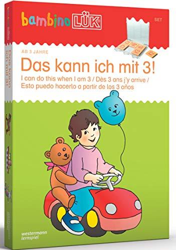 bambinoLÜK-Sets: Georg-Westermann-Verlag bambinoLÜK Set Das kann ich mit 3