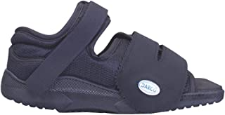 Complete Medical Darco Med-Surg Shoe Black Square-Toe WoMen's, Small, 0.5 Pound