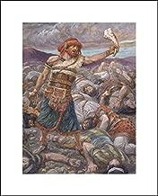 James Tissot 16x20 Art Print - Samson Slays A Thousand Men
