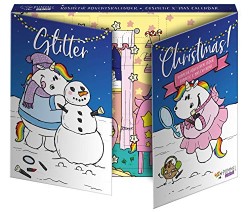 Pummel & Friends Beauty Advent Calendar - Kosmetik-Adventskalender - Offizielles Lizenzprodukt, 580 g