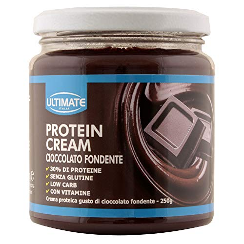 Protein Cream Cioccolato Fondente - Crema Proteica...