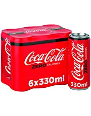 Coca Cola Zero Can, 330 ml (Pack of 6)