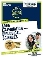 Area Examination – Biological Sciences (Graduate Record Examination)