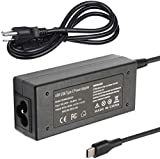 45W Type-C AC Adapter Laptop Charger for HP Chromebook 11 11A G6 G7 EE; Chromebook X360 14 G5 14-ca061dx 14-ca020nr 14-ca060nr 14-CA000 11-AE000 14-ca051wm Chrome Charger for HP Spectre X2 X360