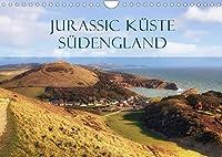 Jurassic Kueste - Suedengland (Wandkalender 2022 DIN A4 quer): Die Jurassic Kueste im Sueden Englands bietet atemberaubende Klippen und Aussichten auf den Aermelkanal (Monatskalender, 14 Seiten )