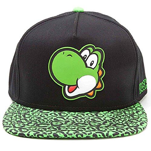Nintendo Baseball Cap Yoshi Rubber Patch Nue offiziell snapback
