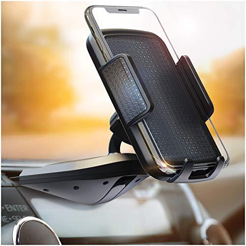 BESTRIX Cell Phone Holder for Car , CD Slot Car Phone Holder, Hands...