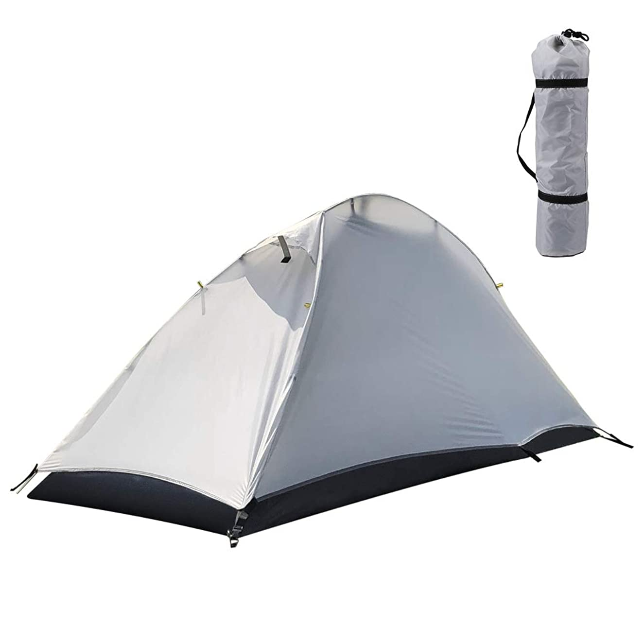 Walmeck- Free-Standing Camping Tent Hiking Climbing Sleeping Tent Sunlight Shelter Detachable Single Camping Cabana Waterproof Outdoor Sleeping Tent