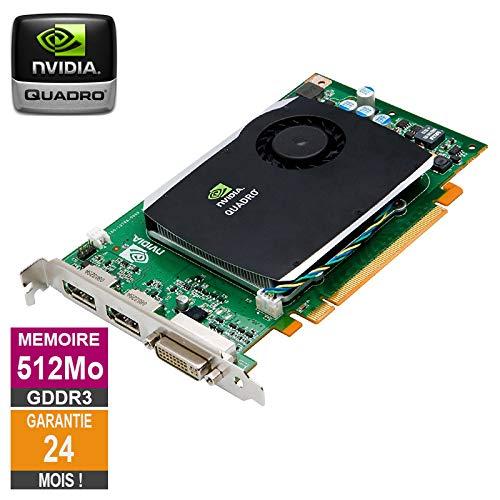 Grafikkarte Nvidia Quadro FX 580 512MB GDDR3 PCI-e DVI DisplayPort