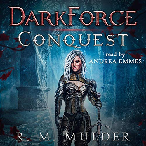 Conquest: DarkForce audiobook cover art
