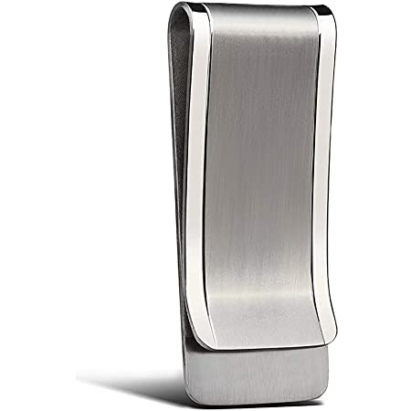 Tapp Collections/™ Silver Stainless Steel Slim Money Clip #3