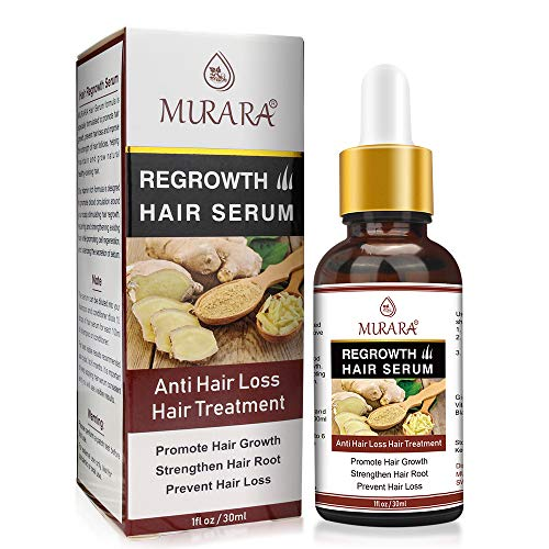 Sérum de croissance des cheveux, sérum anti-chute de cheveux, stimule de nouveaux cheveux plus épais, plus complets et plus rapides pour les femmes hommes 30 ml