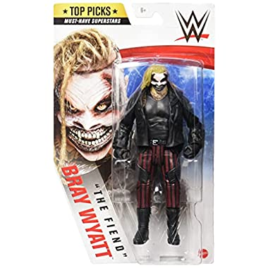 WWE Top Picks The Fiend Bray Wyatt Action Figure 6 in Posable Collectible and Gift for Ages 6 Years Old and Up