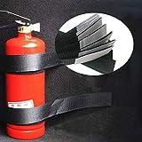 VFUM Coche Caja Almacenamiento4Pcs / Set Car Trunk Organizer Extintor De Incendios Correas De Montaje Bolsa De Almacenamiento Cintas Fijación Vendaje Soporte Pegatinas Correas