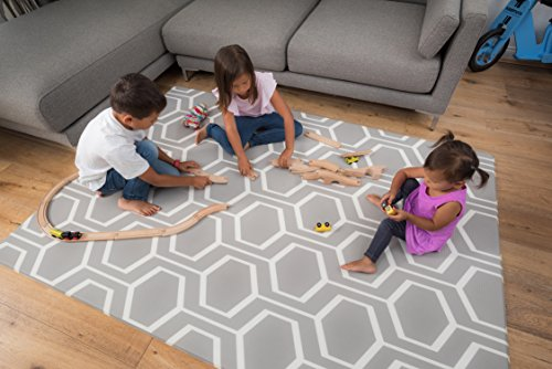 Tregolden Baby Play Mat – For Babies, Toddlers and Kids – Protect Your Child With This Stylish Soft Play Rug – Attractive, Modern and Sophisticated Design – Tested to Rigorous Safety Standards