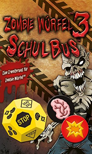 Pegasus Spiele 51833G - Zombie Würfel 3 Schulbus