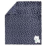 Baby-Essentials-Plush-Fleece-Throw-and-Receiving-Baby-Blankets-for-Boys-and-Girls-Fluffy-Puppy