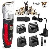 Original Elektrischer Akku RFC-208® Tierhaarschneider Hunde Katzen Schermaschine Tierhaarschneidemaschine