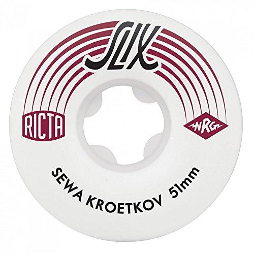 RUOTE RICTA (JEU DE 4) PRO SLIX 99A 51MM SEWA KROETKOV