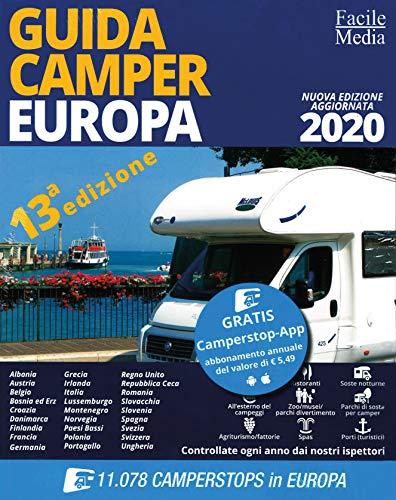 Guida camper Europa 2020. Con app