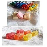 SMARTY BOX 1 KG Caramelos Masticables Blandos y 1KG Gominolas de Pectina Natural, Caramelos de Goma, Sin Gluten, Fabricados en España