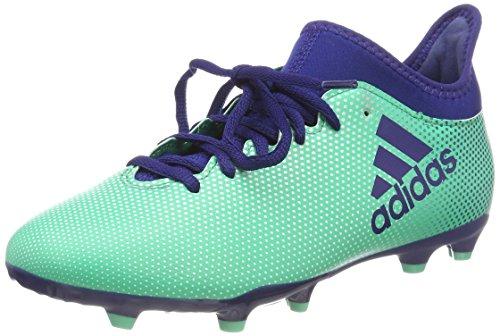 adidas Unisex-Erwachsene X 17.3 FG JR CP8993 Fußballschuhe, Mehrfarbig (Indigo 001), 37 1/3 EU