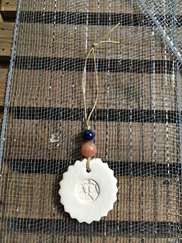 Libra Ornaments - Clay Essential Oil Diffuser for Bedroom, Office, Bathroom - Meaningful Gifts