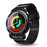 Bearbelly Smart Watch K88H Plus Smart Reloj para iOS Android pulsómetro Reloj IPS Pantalla Redonda podómetro