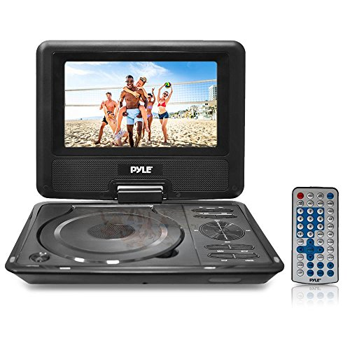 "For Sale! 9"" Portable DVD CD Player - High Resolution TFT Swivel Angle Foldable Display Screen Bui..."