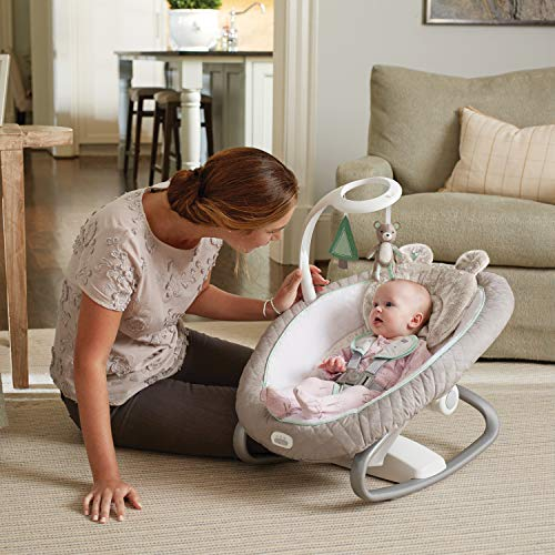 51 XHR3rqPL The Best Battery Operated Baby Swings in 2021 Reviews