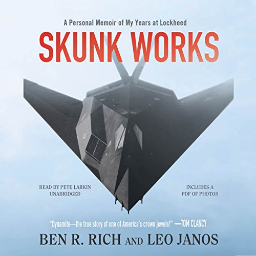 Skunk Works Audiobook By Ben R. Rich,                                                                                        Leo Janos cover art