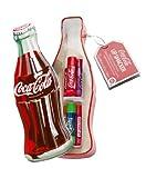 Lip Smacker, Set di 6 lucidalabbra aromatizzati in confezione di latta a forma di bottigli...