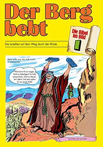 Der Berg bebt: Die Israeliten auf dem Weg durch die Wüste (Die Bibel im Bild / Biblische Geschichten im Abenteuercomic-Stil)