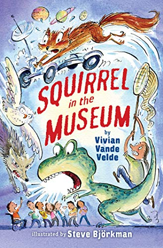 Squirrel in the Museum (Twitch the Squirrel Book 3) (English Edition)