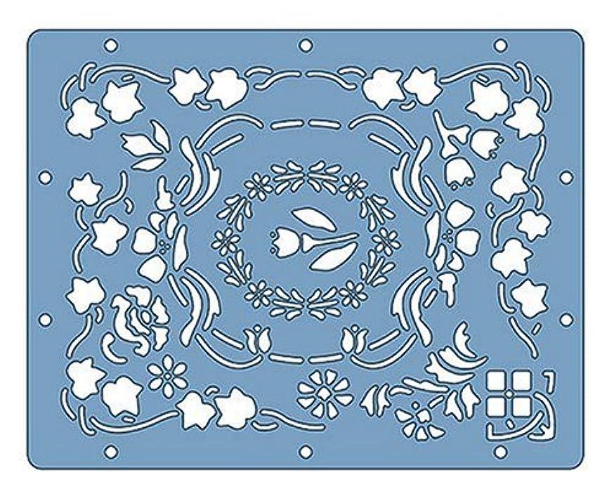 Fiskars Shapeboss 9 Inch by 11 Inch Stencil Sets, Floral