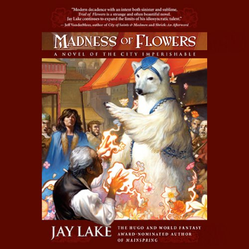 Madness of Flowers audiobook cover art